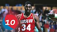 Hakeem Olajuwon Top 10 Plays of Career