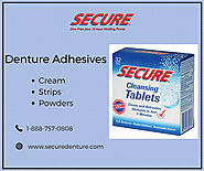Best Denture Adhesives: Cream, Powders and Strips