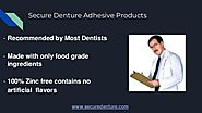 The Best Secure Denture Adhesive Products