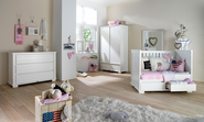 Kidsmill Malmo White Nursery Furniture Set