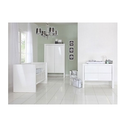 Kidsmill Diamond Modern White Nursery Furniture Roomset