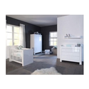 Europe Baby Somero - Modern Nursery Furniture Roomset in High Gloss Wh