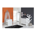 Europe Baby Somero Nursery Furniture Roomset - Matte White