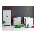Cosatto Do-Re-Mi Nursery Furniture Roomset - Includes Cot Bed, Wardrobe & Dresser