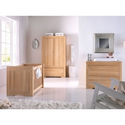 Kidsmill Bretagne Luxury Oak Nursery Room Set