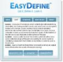 EasyDefine - Define multiple words quickly