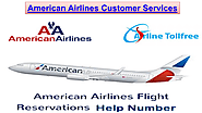 Contact American Airlines Support Phone Number For ticket confirmation