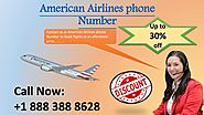 Contact American Airlines phone number +1 888 388 8628 to book ticket online at affordable price