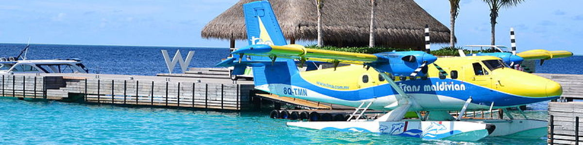 Headline for Top 3 modes of Transportation in the Maldives - Time to Ride or Fly!