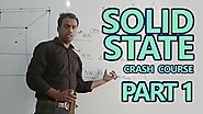 Chemistry | Solid State | NEET Crash Course | Part 1 | by Ankit Sir