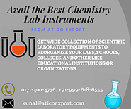 Famous Chemistry Lab Equipments Manufacturer