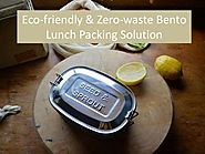 Eco friendly & zero-waste bento lunch packing solution