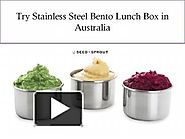 Try Stainless Steel Bento Lunch Box in Australia