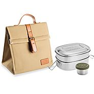 Shop Bento Stainless Steel Adult's Lunch Container
