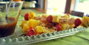 Barbecued Shrimp and Pineapple Kabob | Mother Rimmy's Cooking Light Done Right