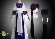 Magi Labyrinth of Magic Sinbad Cosplay Costume + Wig
