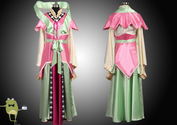 Magi Labyrinth of Magic Kougyoku Ren Cosplay Costume + Wig