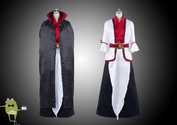 Magi Labyrinth of Magic Kouen Ren Cosplay Costume + Wig