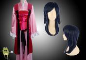 Magi Labyrinth of Magic Gyokuen Ren Cosplay Costume + Wig