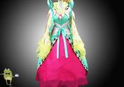 Custom Made Magi Kougyoku Ren Cosplay Costume Outfits