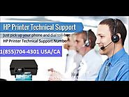 Hp Printer Toll Free Number : 1(855)704-4301