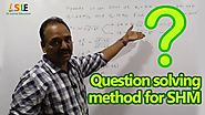Question solving method for SHM