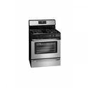 "Frigidaire FFGF3053L 30"" Freestanding Gas Range with Ready-Select Controls and Large Capacity, Stainless Steel"