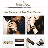 Get Amazing Offers on Trendy Wood Watches For Women