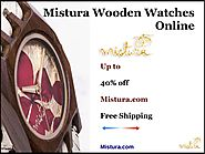 Buy Mistura Wooden Watches Online At Affordable Price by misturabrooklyn - Issuu