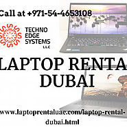 Hire or Lease Laptop Rental services, Dubai - Techno Edge Systems LLC | Visual.ly