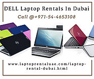 Hire or lease DELL Laptop Rental in Dubai