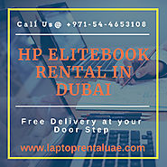 Hire HP EliteBook Laptop rental in Dubai
