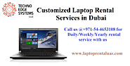 Laptop Rental services in Dubai