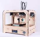 FlashForge 3D printer, dual extruder w/2 ABS spools