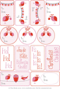 Pink Gift Tags by Wee Birdy