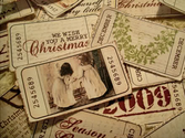 Vintage Ticket Style Christmas Gift Tags by ♥ Miss Cutiepie