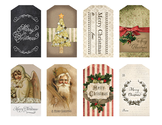 Vintage Christmas Tags by Eclectic Anthology