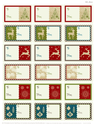 Classic Christmas Tags by WorldLabel