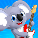 Koala Band - Play games with your friends, learn about music, get free songs, a guitar, piano, and drum!
