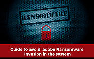 Adobe Ransomware Removal Tips- Get Rid of Adobe Ransomware