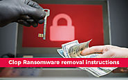 Clop Ransomware Removal Instructions | Ransomware Removal Guide