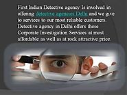 No need to care for Police investigations and public, Hire FIDA private detective Agency