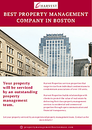 Best Property Management Company In Boston