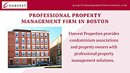 Professional Property Management Firm In Boston