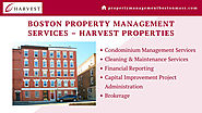 Boston Property Management Services – Harvest Properties