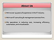 Zimega Technology Solution| IT Support Services