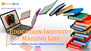 Education Industry Mailing List | Educational Industry Email Database