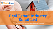 Real Estate Industry Email List | Real Estate Mailing Addresses