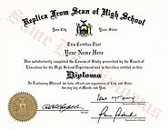 Buy Replacement High School Diploma
