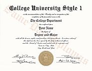 Authentic Looking College Degrees